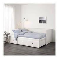 Кровать с шуфлядами Hemnes  80*200. (903.493.26)