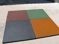 Плитка резиновая  ПГ - 2 (квадрат)
