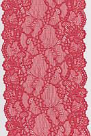 Кружево стрейч корал 17см 1139-1415С