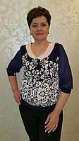 Блуза женская больших размеров Лолита