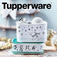 Набор контейнеров Снежные мишки (500мл/1,3л) 2 шт. Tupperware, фото 1