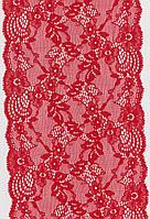 Кружево стрейч красное 17см 1157-14BR