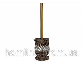 Щетка для унитаза Irya Queen бронзовая