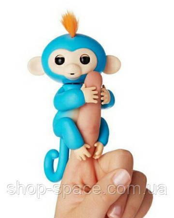 Интерактивные обезьянки Fingerlings. Оригинал. Синяя.