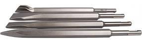 Набір зубил SDS-PLUS в тубі, 4 шт. Falc F-23-588