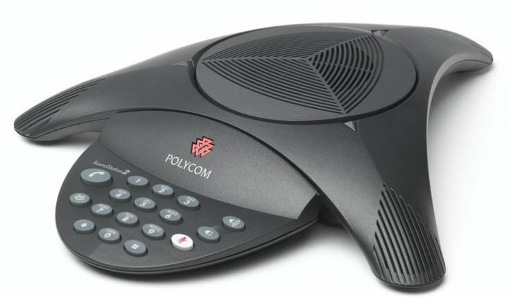 Телефон для конференций Polycom Soundstation2 без экрана
