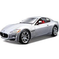 Авто-конструктор Maserati Gran Turismo (1:24) Серебристый  Металлик Bburago (18-25083)
