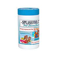 Хлор в гранулах 1кг. Шок хлор в гранулах для бассейна, быстрый хлор, химия для бассейна Splash