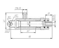 Гидроцилиндр ГА-66010А-01 (Дон-1500, Нива) открытия копнителя и воздухозаборника