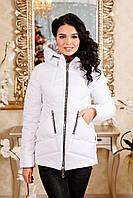 Женская куртка POLINA Сезон весна - осень 2018 цвет Белый