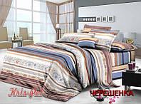 Семейный набор хлопкового постельного белья из Сатина №1973 KRISPOL™
