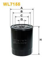 Фильтр масляный NISSAN PRIMERA CIVIC WL7155/OP588 (Производство WIX-Filtron) WL7155
