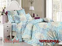 Семейный набор хлопкового постельного белья из Сатина №211 KRISPOL™