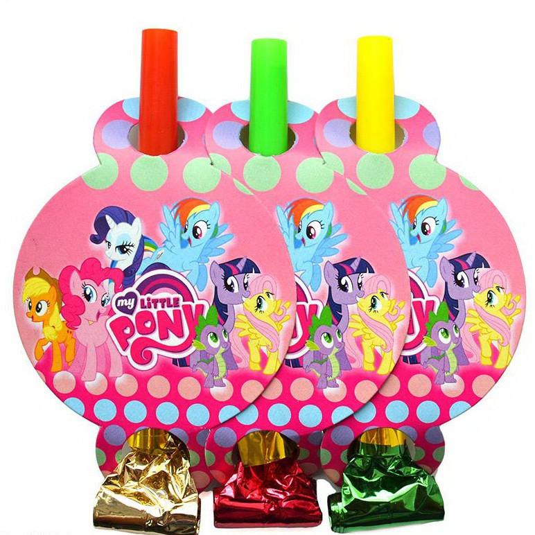 Язычок - дудка Мои Маленькие Пони 6 штук