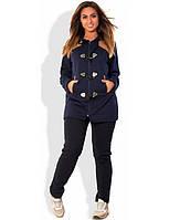 Спортивный костюм темно-синий размеры от XL 2134