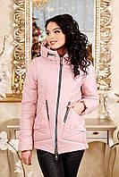 Женская куртка POLINA Сезон весна - осень 2018 цвет Розовый