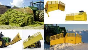 Отвалы лопаты для тракторов и погрузчиков