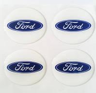 Ford D56 мм cиликон (Синий логотип на белом фоне)