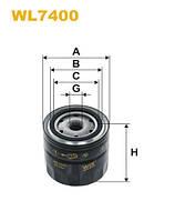 Фильтр масляный NISSAN PRIMERA WL7400/OP567/3 (Производство WIX-Filtron UA) WL7400