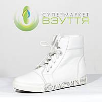 Кожаные женские ботиночки спортивного стиля 37,, 38 размер