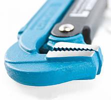 Ключ трубный рычажный №1, 1, цельнокованый, CrV, тип L Gross