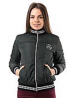 Женская куртка бомбер под резинку пр-во Украина  KD1380