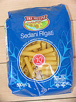 Макароны трубочки, Sedani Rigati (Tre Mulini) 0,5 кг