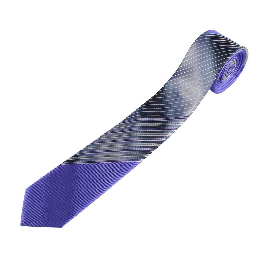 Комбинированные сиреневые галстуки  Pierre Cavell  098 Л