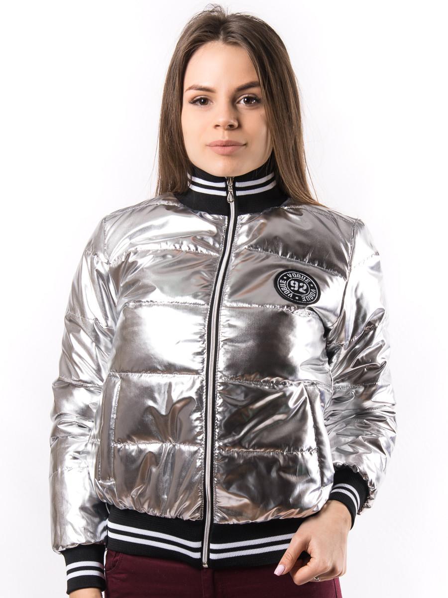e3036b25e96 Женская весенняя куртка бомбер пр-во Украина KD1380 оптом и в ...