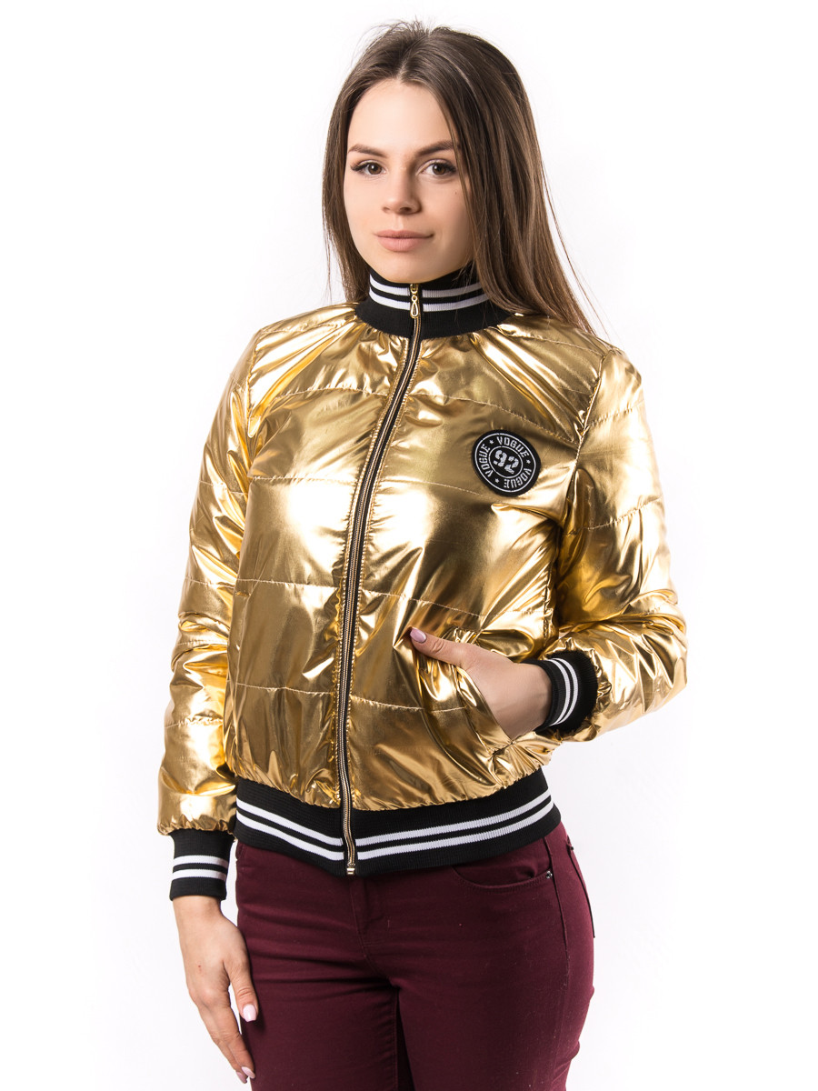 facd3851f24 Женская весенняя куртка бомбер пр-во Украина KD1380 - Оптово-розничный  интернет-магазин