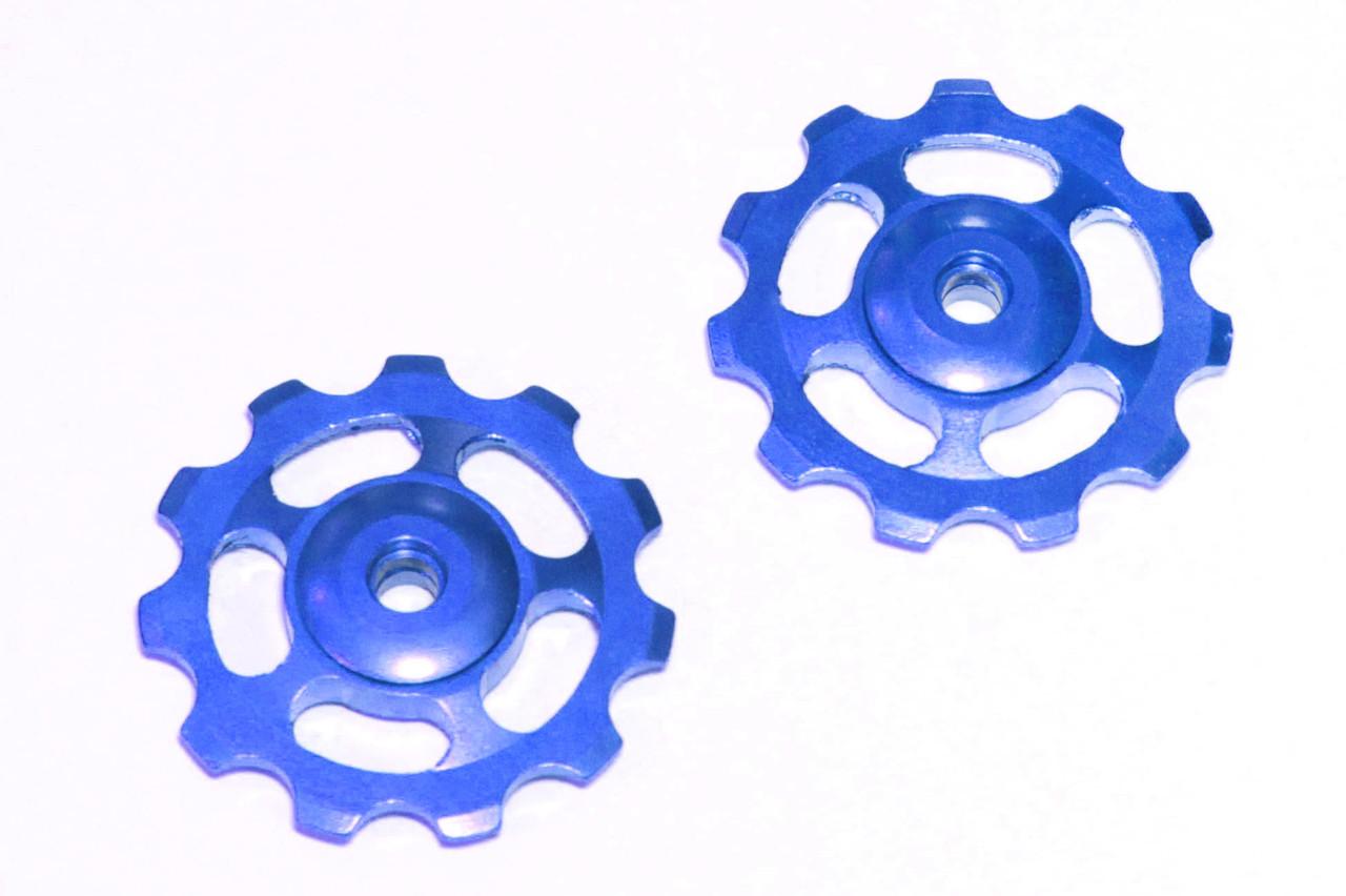 Ролики для заднего переключателя Lixada, синие, 11T