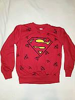Яркая кофта на мальчика <<Super man>> 128