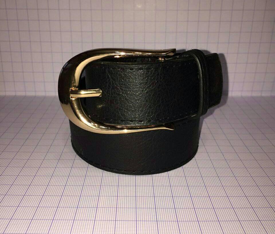 Женский ремень полоса  Ж-1 (черный)