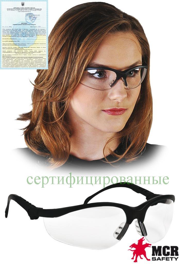 Противоосколочные защитные очки в линии KLONDIKE Plus MCR-KLONDIKEP TB