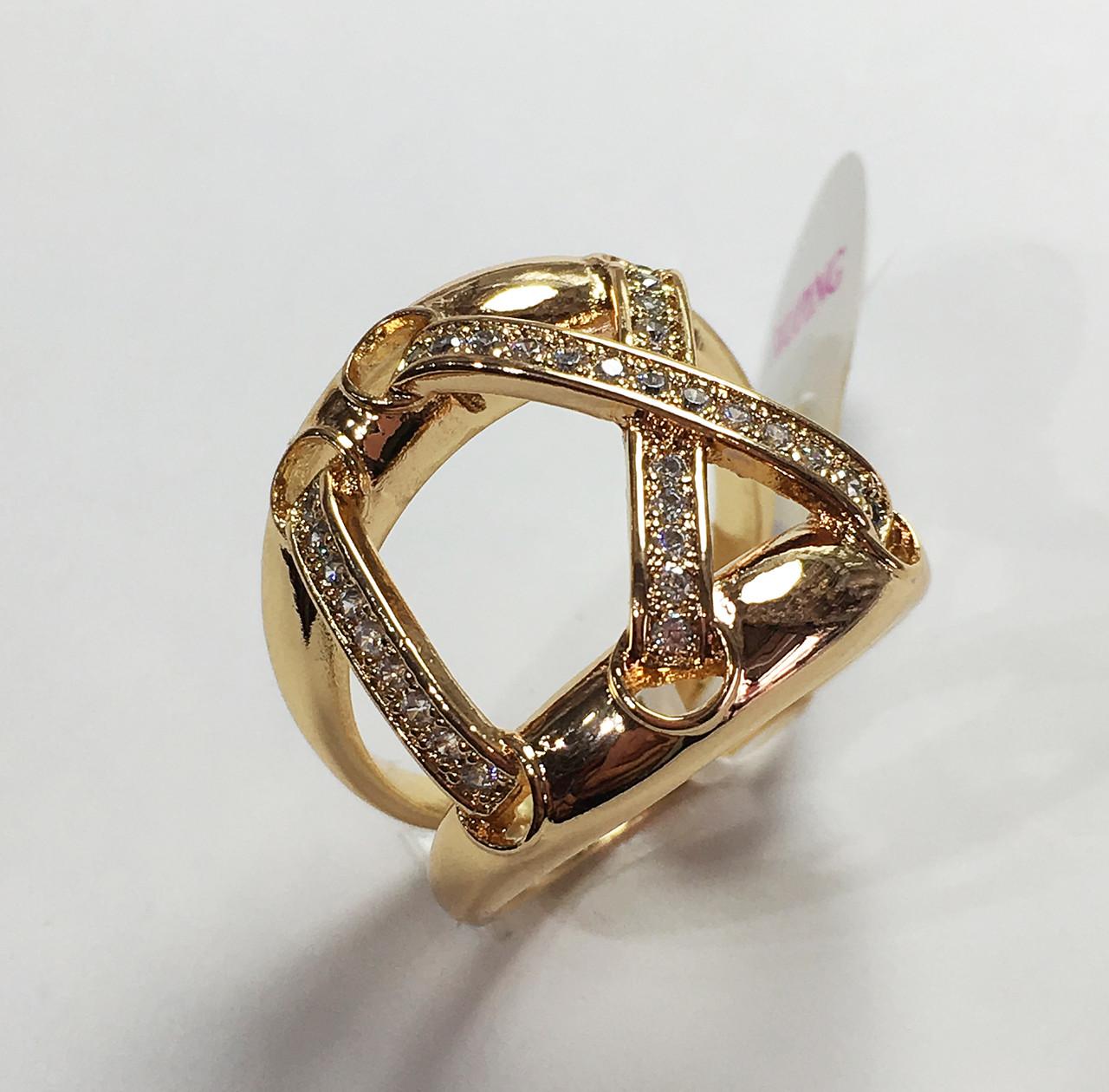 Кольцо Валькирия, размер 17, 18 ювелирная бижутерия XP