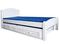 Односпальная кровать из дерева