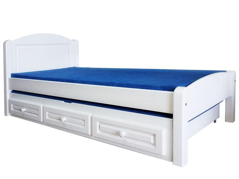 Односпальная кровать из дерева, фото 1