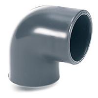 Колено 90° d. 280 мм EL50 ПВХ с клеевым соединением (большой диаметр)