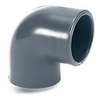 Колено 90° d. 280 мм EL50 ПВХ с клеевым соединением (большой диаметр), фото 1