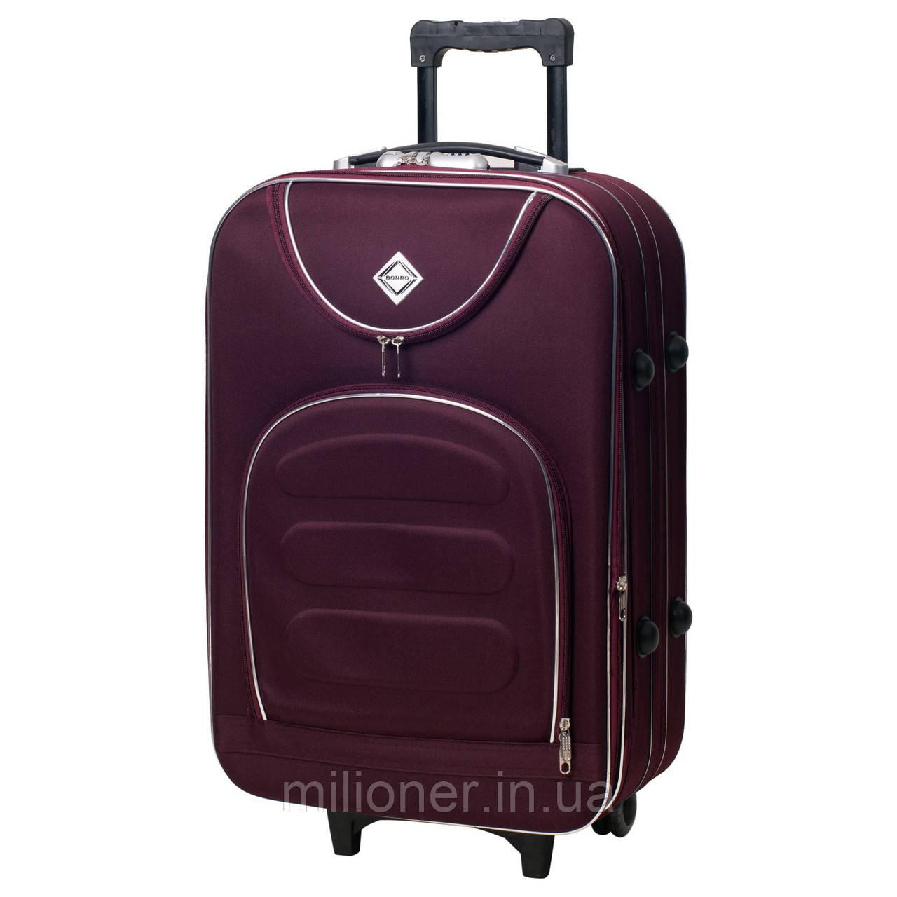 Чемодан Bonro Lux (небольшой) бордовый, цена 696 грн., купить в ... 14832a1b3d8