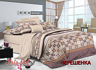 Полуторный набор постельного белья 150*220 из Сатина №207 KRISPOL™
