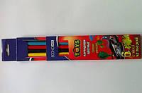 Карандаши цветные TOYS 6шт