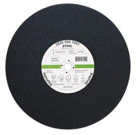 Відрізний диск зі штучної смоли, асфальт, Ø 400 мм