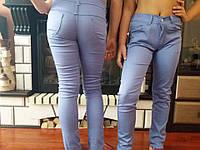 Котонові штани на ріст 98-134 см. лайкра