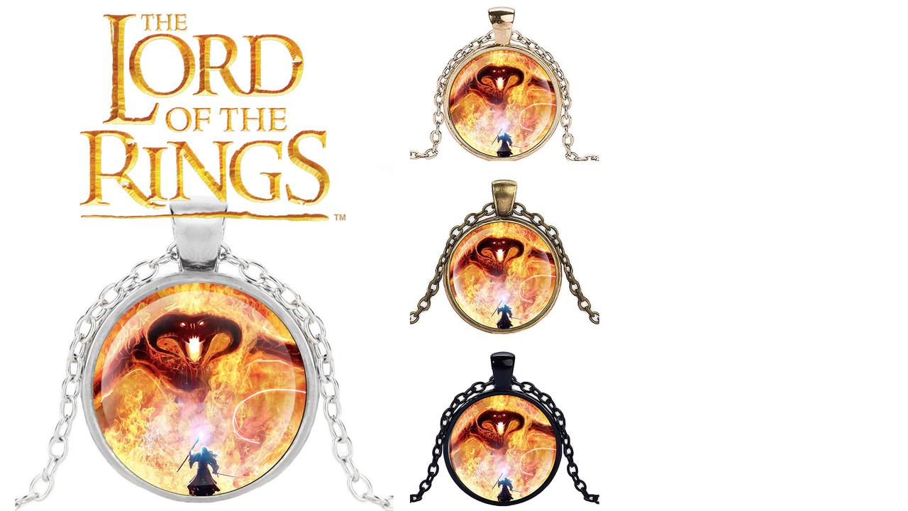 Кулон Властелин колец Lord of the Rings сражение Гендальфа с Сауроном
