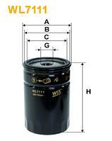 Фильтр масляный Volkswagen OP560/WL7111 (производство WIX-Filtron), AAHZX