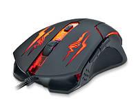 Мышка REAL-EL RM-520 Gaming USB черный