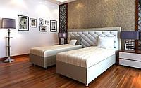 """Кровать для отелей """"Подиум"""" с функцией соединения"""