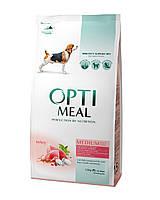 Сухой корм OPTIMEAL (Оптимил) для собак средних породс индейкой 12КГ