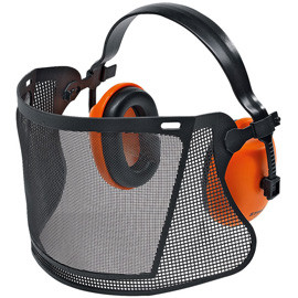 Захист обличчя з навушниками, ECONOMY